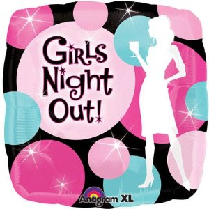 """18"""" Girls Night Out Party Balloon"""