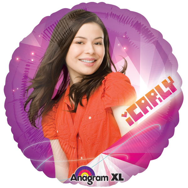 "18"" iCarly Nickelodeon Mylar Balloon"