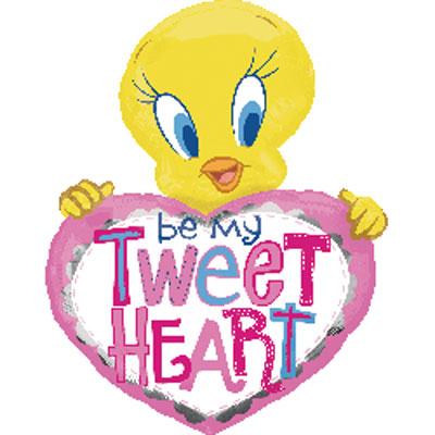 """30"""" Tweety Be My Tweet Heart"""