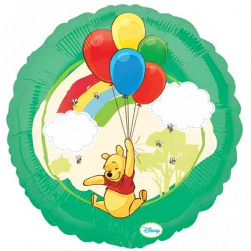 """18"""" Winnie The Pooh Bunch Of Balloons"""