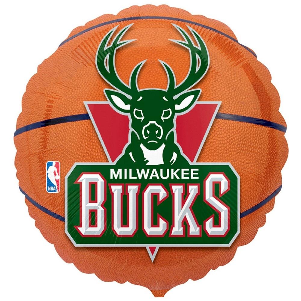 "18"" NBA Milwaukee Bucks Basketball"