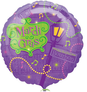 "18"" Bourbon Street Party Balloon"