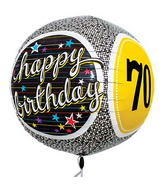 "17"" 70th Birthday Milestone Sphere"