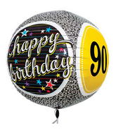 "17"" 90th Birthday Milestone Sphere"