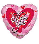 "9"" I Love You Balloon Big Heart"