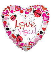 """4"""" Love You Ladybugs"""