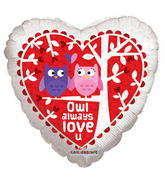 "18"" Owl Always Love U"