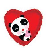 "9"" Airfill Only Panda Bear Balloon"