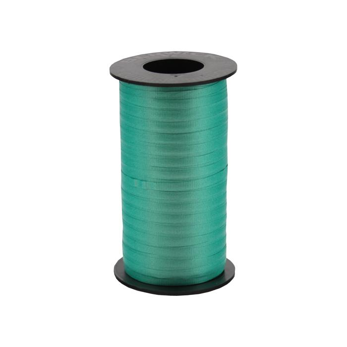 "3/16"" Poly Curling Ribbed Ribbon Emerald"