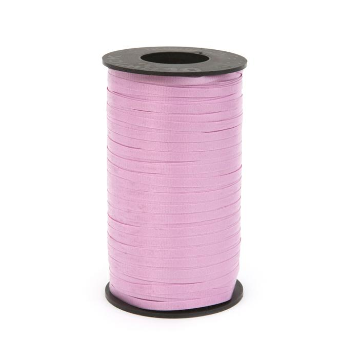 """3/16"""" Poly Curling Ribbed Ribbon Orchid"""