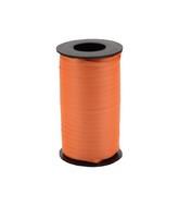 "3/16"" Poly Curling Ribbed Ribbon Orange"