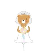 "14"" Aifill Only Mini Shape Bride Bear"