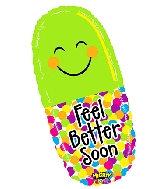 """29"""" Mighty Bright Shape Mighty Feel Better Pill"""