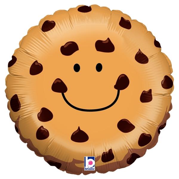 "21"" Choclolate Chip Cookie Balloon"