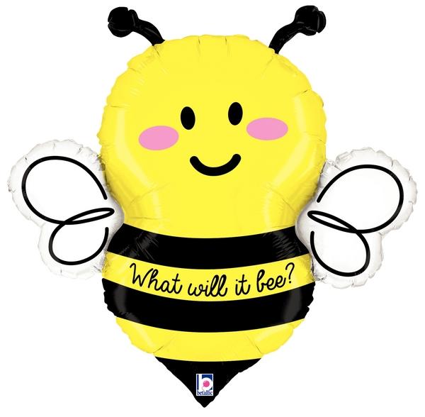"34"" Foil Shape Balloon What Will It Bee?"