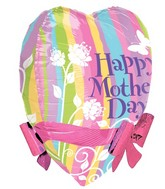 "22"" Mother's Day Pastel Ribbons & Bows"