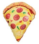"25"" Mylar Pizza Slice Super Shape Balloon"