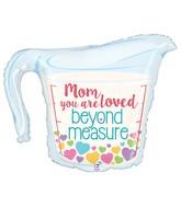 "33"" Foil Shape Balloon Mom Measuring Cup"