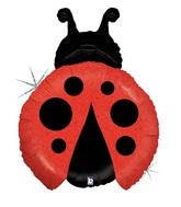 """27"""" Holograhic Little Ladybug Balloon"""