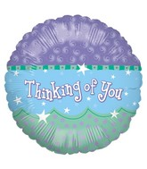 """18"""" Balloon Packaged Thinking Of You Wave"""