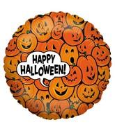 18'' Pumpkin Patch Foil Balloon