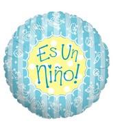 "18"" Es Un nino Spanish Balloon"