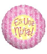 """18"""" Baby Bits Girl Es Nina Balloon"""