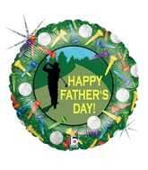 """18"""" Father's Day Golf Border"""