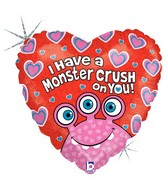 """18"""" Holographic Packaged Monster Crush on You"""