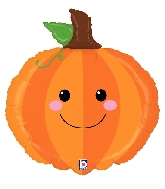 "29"" Foil Shape Produce Pals Pumpkin Balloon"
