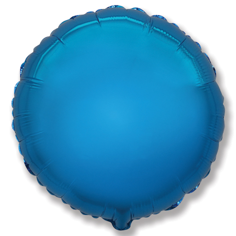 """9"""" Airfill Only Blue Circle"""