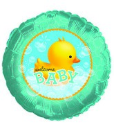 "18"" Bubble Bath Duckie Foil Balloon"