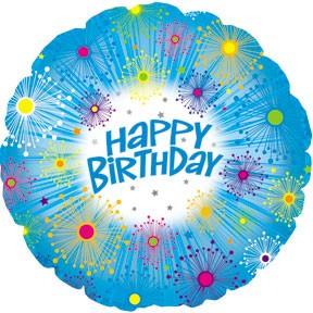 "18"" Happy Birthday Glitters"