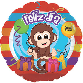 "17"" Feliz Dia Balloon"