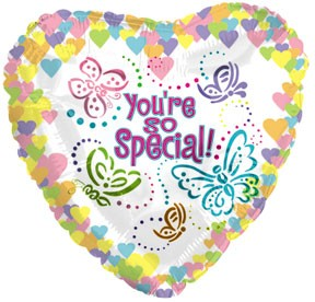 """9"""" Airfill You're So Special Butterflies M75"""