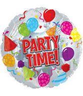 "17"" Party Time Balloon Packaged"