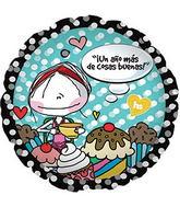 """17"""" Un Ano Mas Balloon"""
