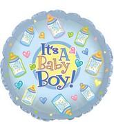 "9"" Airfill Baby Boy Bottles M33"