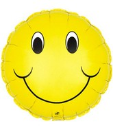 "31"" Jumbo Smiley Face Balloon Packaged"