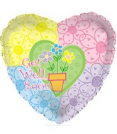 """18"""" Get Well Flower Pot"""