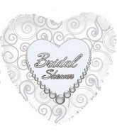 """17"""" Bridal Shower Pearls Wishes Packaged"""