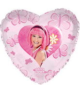 "17"" Lazy Town Stephanie Balloon"