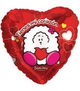 "18"" Viany My Corazon Mylar Balloon"