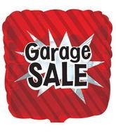 """17"""" Garage Sale Q-Bloon Balloon Packaged"""