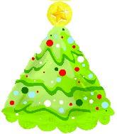 """18"""" Christmas Tree Shape-A-Loon"""