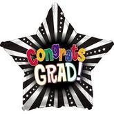 """18"""" Congrats Grad 3D Star"""