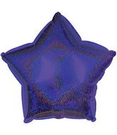 "9"" Purple Star Dazzeloon Balloon"