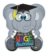 "21"" Huge Success Grad Elephant Balloon"