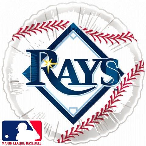 "18"" MLB BaseBall Balloon Tampa Bay Rays"
