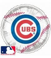 "9""  Airfill Baseball Chicago Cubs"
